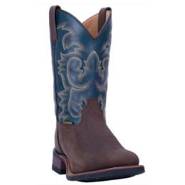 Laredo Tan Hamilton Western Men's Boots Wide Square Toe 7936