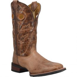 Dan Post Laredo Beige-Brown Cannon Mens Western Boots 7944