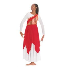 Eurotard Womens Plus Blessed Grace Praise Tunic Top 79567P **ONLINE ONLY**
