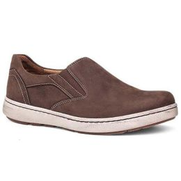 Dansko Viktor Brown Nubuck Slip On Water Resistant Comfort Mens Shoes 8900-079300
