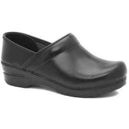 899-020202 Wide Pro Cabrio Leather Dansko Slip-On Clog Womens Shoes