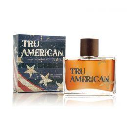 90081 Men's TRU AMERICAN 3.4 oz Tru Fragrance Cologne Spray