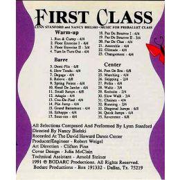 BOD9122 First Class Preballet Class Music Vol. I