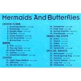 BOD9328 Mermaids & Butterflies-Preballet Class