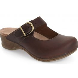 9402-781400 Antique Brown Oiled Martina Womens Dansko Clogs