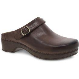 Dansko Berry Brown Milled Burnished Womens Mules 9421-801600