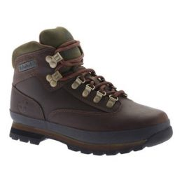 Timberland Euro Hiker Brown Leather Mens Boots 95100