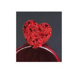 HP-12 Sequin Heart on headband.