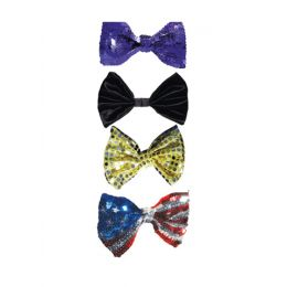 A-57 Reflection Sequin Bowtie