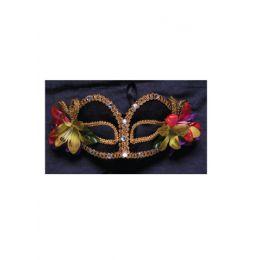 A-141 Floral Mardi Gras Mask