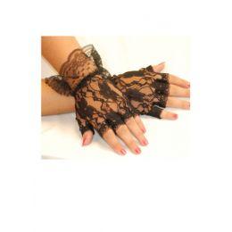 GL-06 Lace Half Gloves