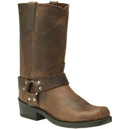 DB594 Goucho Distressed Leather Harness Durango Mens Western Boots