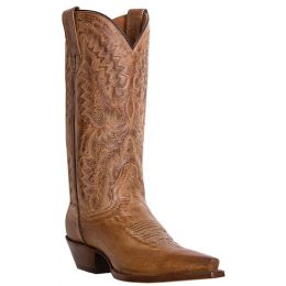 DP3463 SANTA ROSA Tan Leather Dan Post Womens Western Cowboy Boots