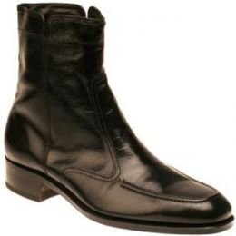 Florsheim Essex Zip Boot Black Leather Mens Dress 17074-01