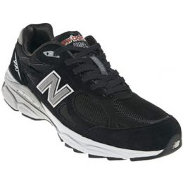 New Balance M990 Black Suede Mens Running M990BK3