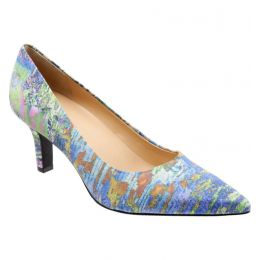 T1714-908 Monet Multi Noelle 2.5 inch Heel Womens Trotter Dress Pump