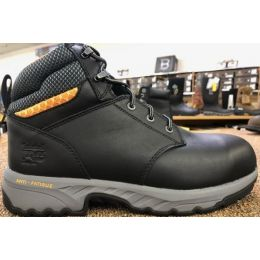 Timberland Pro Men's Black 6 Inch Steel Toe Lace-Up Work Boot A25Q5