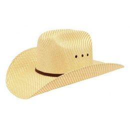 A73002 Tan/Straw Youth Ariat Cowboy Hat with Eyelets