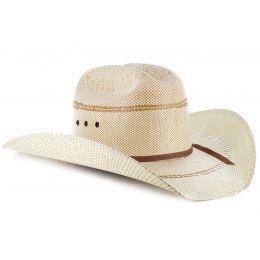A73004 Tan Youth Straw Ariat Cowboy Hat