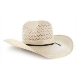 Ariat Natural 20X Mens Straw Hat A73122
