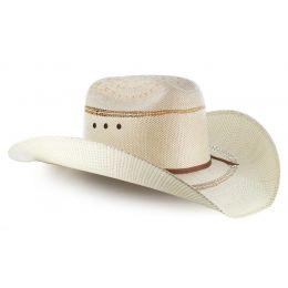 A73124 Tan Bangora Straw Mens Ariat Cowboy Hat