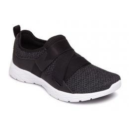 Vionic Womens's Black Aimmy Active Comfort Sneakers AIMMY