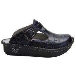 Alegria Navy Classic Croc Womens Comfort Shoes ALG-7801