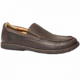 Born Polo Brown Leather Mens Casual Slip On H43017