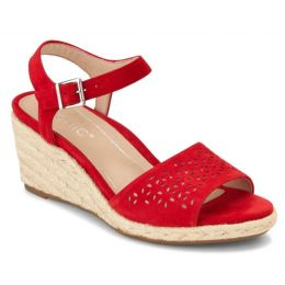 Vionic Cherry Ariel Womens Comfort Wedge Sandals ARIEL