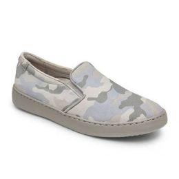 Vionic Grey Avery Pro Camo Womens Comfort Sneaker Shoes