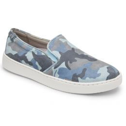Vionic Light Blue Avery Pro Camo Womens Comfort Sneaker Shoes
