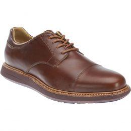 Sebago Smyth Cap Toe Ox Brown Leather Mens Comfort B130265