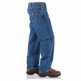 B172DST Dark Stone Rekaxed Fit Carhartt Mens Jeans