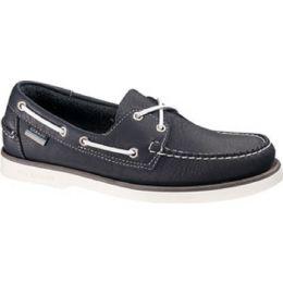Squadron B20221 Navy Slip Resistant Slip-On Sebago Mens Boat Shoes