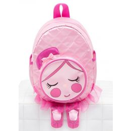 Capezio Pink Chloe Tutu Doll Kids Backpack B207