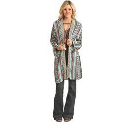 Rock & Roll Cowgirl Long Sleeve Kimono B4K2052