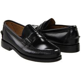 Sebago Classic Black Slip-On Penny Loafer Mens Shoes B76671