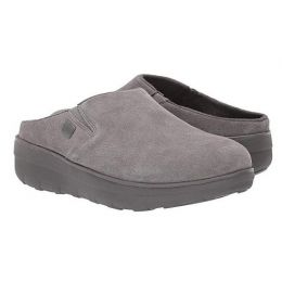 FitFlop Grey Loaff Womens Suede Comfort Clogs B80-049