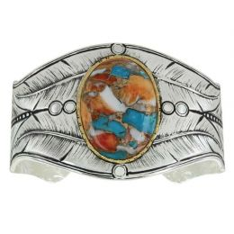 Montana SIlversmith Natures Turquoise Cuff Bracelet BC3358GMTQ