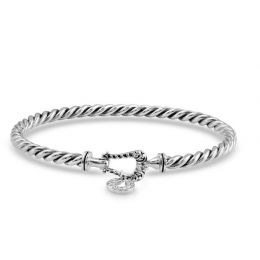 Montana Silversmith Buckled Luck Bangle Bracelet BC4710