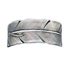 Montana Silversmith Antiqued Silver Feather Cuff Montana Silversmith Womens Bracelets BC83