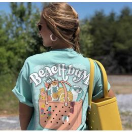 Bogg Bag and Southernology Ultimate Beach Bum Tee
