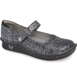 Alegria Belle Silver Slate Womens Comfort Slip On Shoes Bel-162