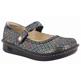Alegria Metallic Belle Diamonds Forever Womens Adjustable Strap Shoes BEL-283