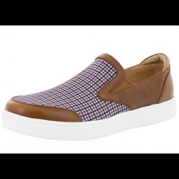 Alegria Tan Plaid Bender Men's Casual Shoes BEN-9240