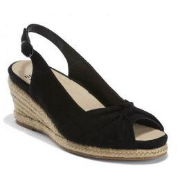 Earth Shoes Women's Black Thara Bermuda Comfort Sandal BERMUDA-BLACK
