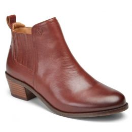 Vionic Beaver Brown Bethany Womens Ankle Boots