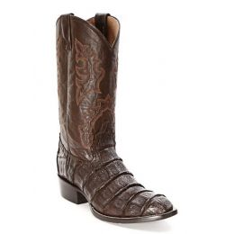 BL04436 Chocolate Caiman R Toe Circle G Corral Mens Western Cowboy Boots (Sizes 9-15)
