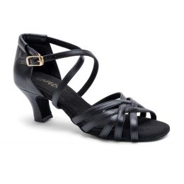 Capezio Black Georgia 2 Inch Ballroom Shoes BR4003W
