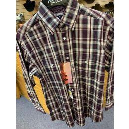 Panhandle Slim Poplin Multi Color Plaid Boys Long Sleeve Shirt C0S4152